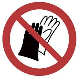 Sticker Port de gants...